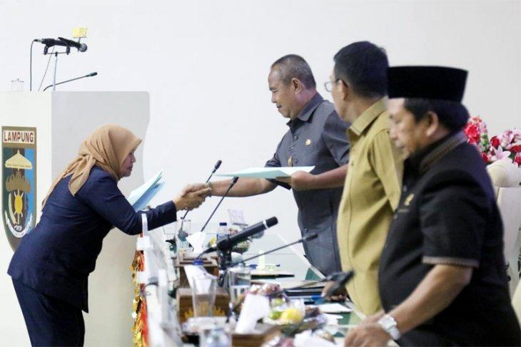 Seluruh Fraksi DPRD Lampung Sepakat Bahas Raperda APBD 2019