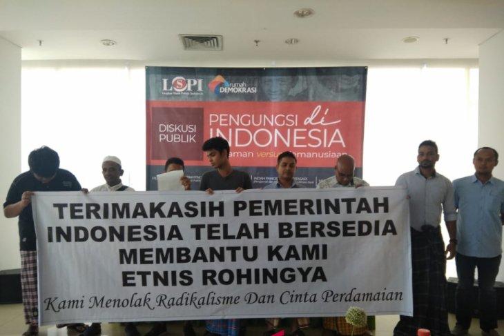 Rohingya refugees express gratitude towards Indonesia