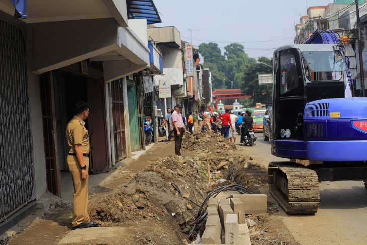 Pemkot Bogor mulai penataan Jalan Suryakencana
