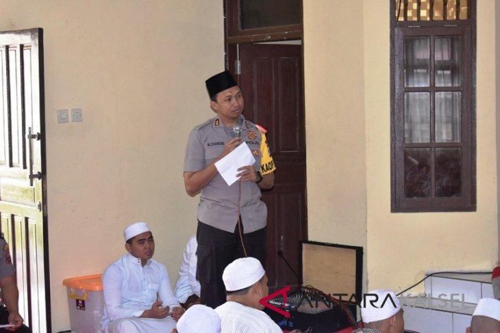 Kapolres Balangan imbau personilnya teladani Baginda Rasulullah