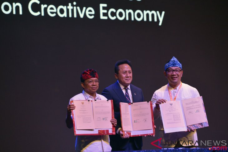 Indonesia encourages creative economy mainstreaming at global stage
