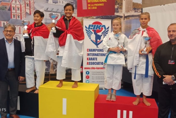 Indonesia takes home 22 medals from  Int`l Karate Open
