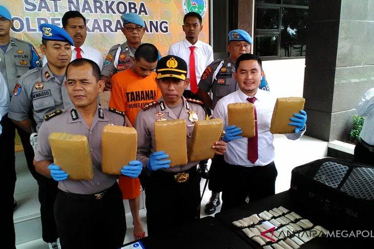 Kasus penyalahgunaan narkoba di Karawang meningkat