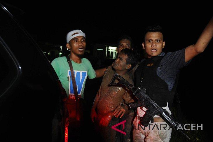 Polisi telah tangkap 37 napi yang kabur dari lapas Lambaro