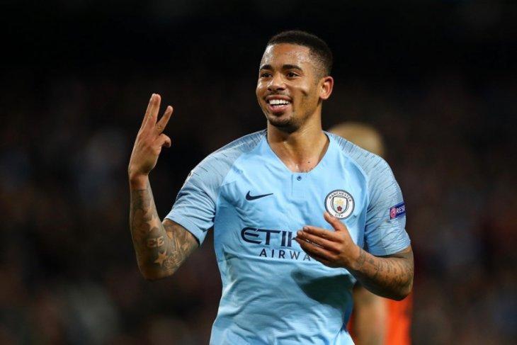 Manchester City hujani gawang Shaktar dengan enam gol tanpa balas