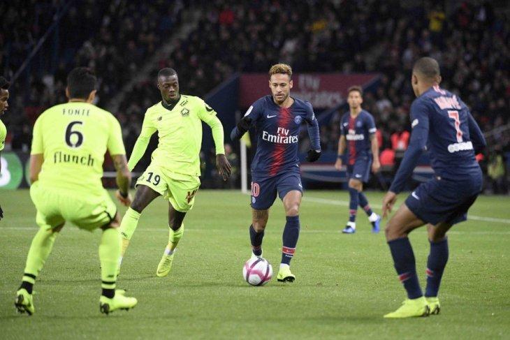 PSG makin dominan setelah menang 2-1 atas Lille