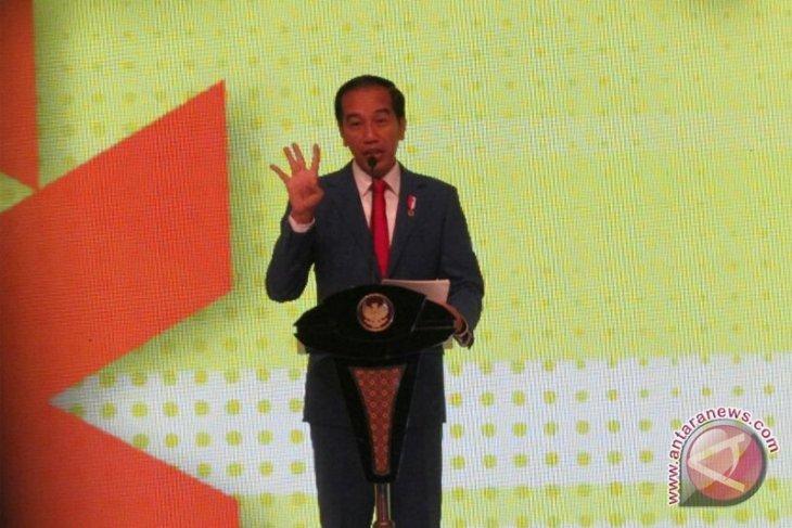 Peta jalan revolusi industri 4.0 diluncurkan Jokowi