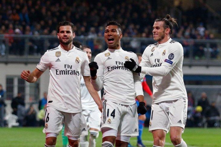 Hasil dan klasemen Grup G, Madrid dan Roma muluskan jalan menuju fase gugur