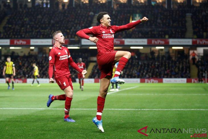 Hasil dan klasemen Liga Inggris, Liverpool satu-satunya yang sempurna