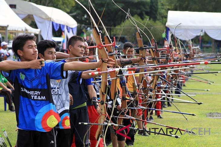203 pemanah berlaga di Kejurda Aceh