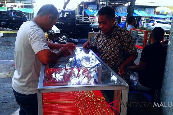Transaksi emas pinggiran di Ambon sepi
