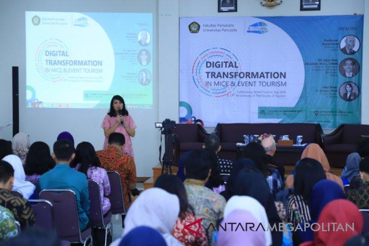 Universitas Pancasila bahas manfaat teknologi digital di pariwisata