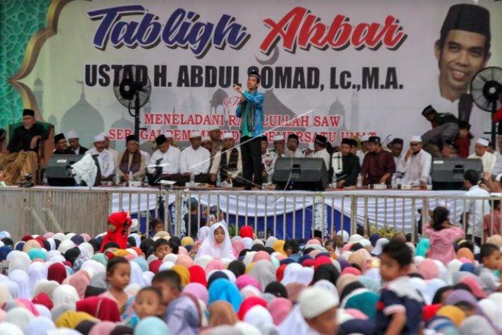 Survei: nasehat Abdul Somad paling banyak diikuti umat
