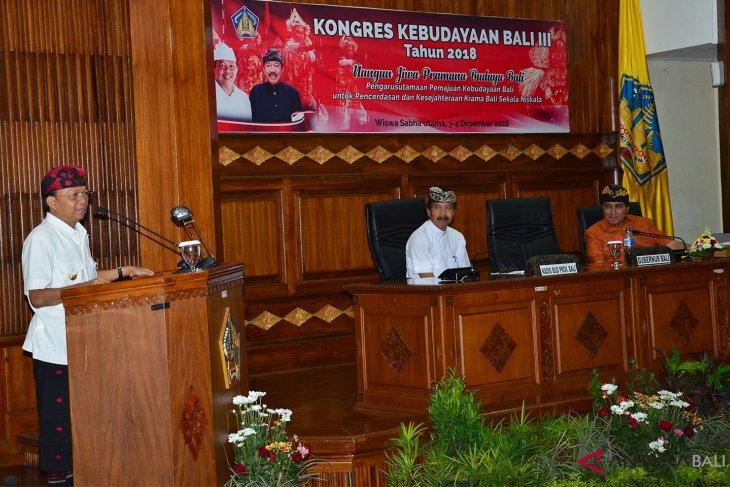 2019, Gubernur Bali usulkan cacah kebudayaan