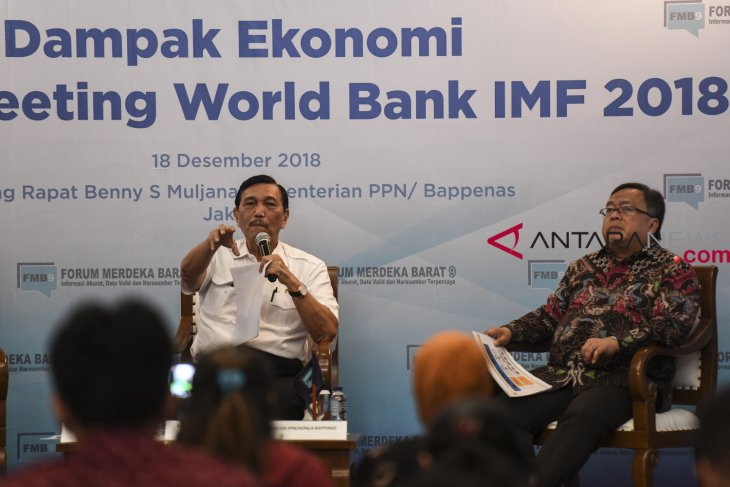 Direct impact of IMF-WB meetings on indonesian economy reaches Rp5.5 trillion