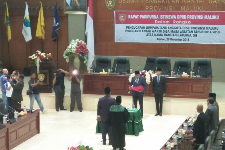 Sebagian besar anggota DPRD Maluku masih proses LHKPN