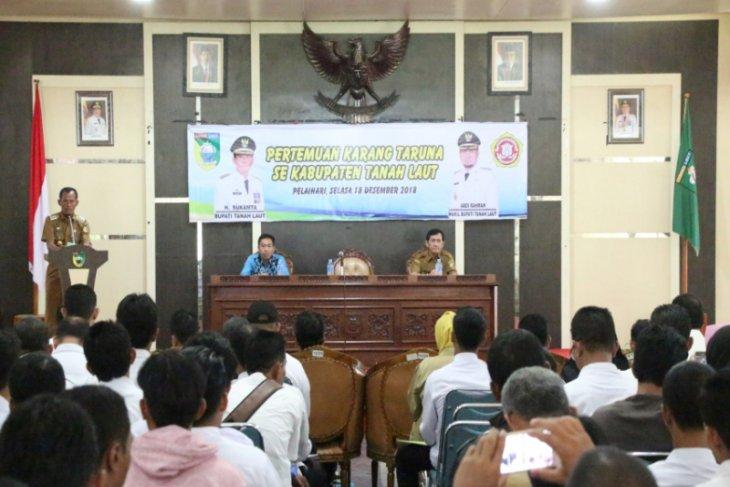 Bupati hadiri pertemuan Karang Taruna