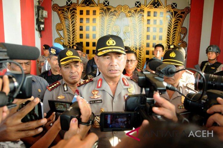 Polda Aceh: sebanyak 70 narapidana kabur masih di luar penjara