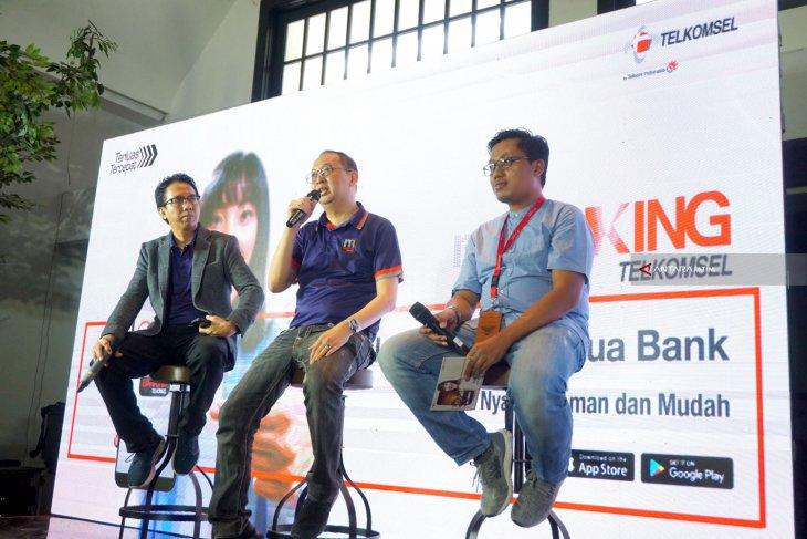 Peluncuran mBanking Telkomsel