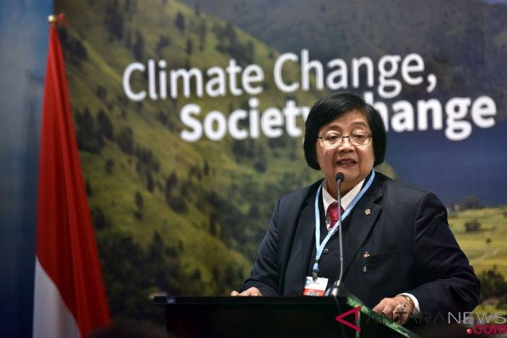 Indonesia reaffirms commitment to coping with climate change