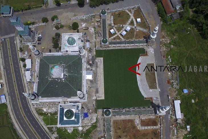 Renovasi masjid Agung Tasikmalaya