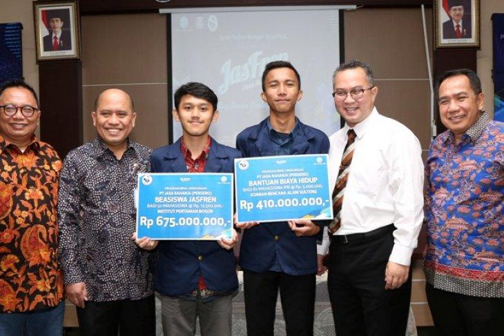 Mahasiswa IPB terima bantuan beasiswa Jasfren