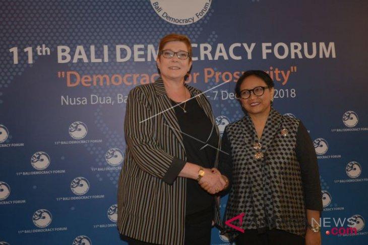 Indonesia, Australia discuss support for Rakhine State through AHA Center