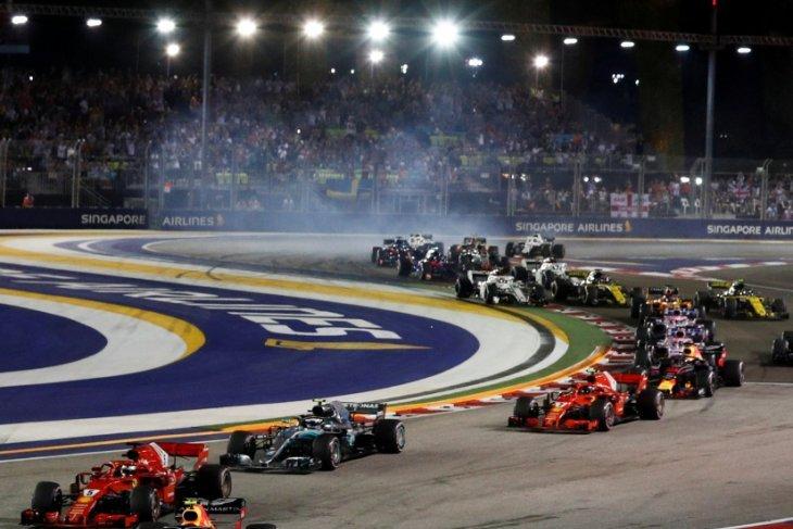 Statistik Grand Prix ke-12 Singapura