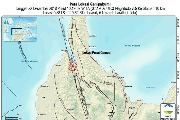 Gempa bumi 5,7 SR mengguncang Bengkulu