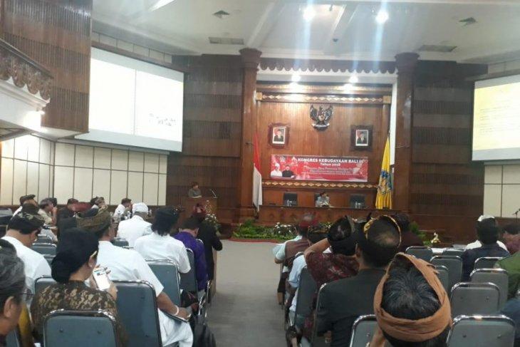 Kongres kebudayaan Bali III gali permasalahan daerah