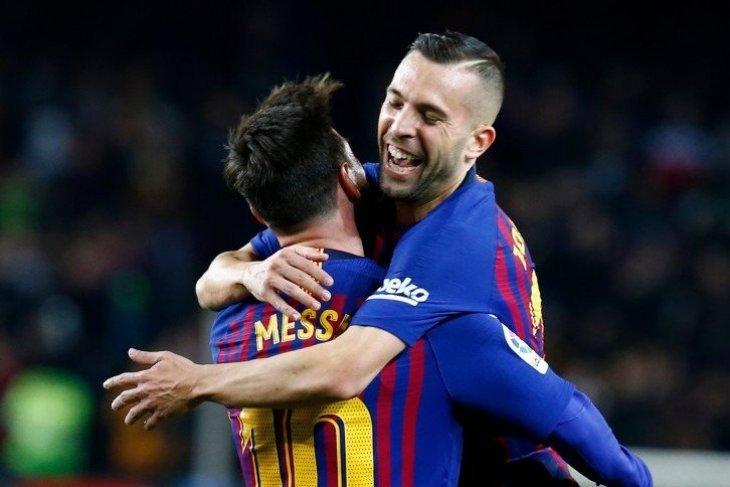 Jordi Alba berandai-andai, kalau saja Messi pensiun