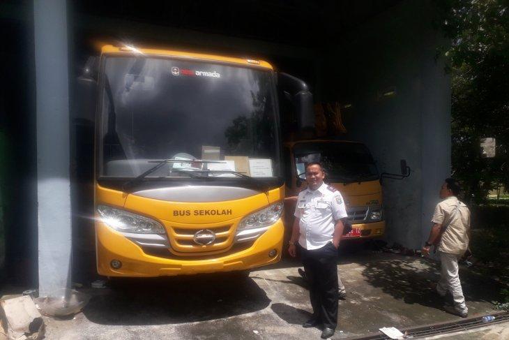 Pemkab Bangka Tengah dapat bantuan bus sekolah