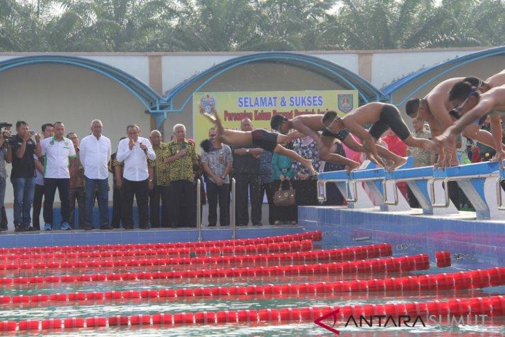 Gubsu resmikan kolam renang bertaraf nasional di Asahan