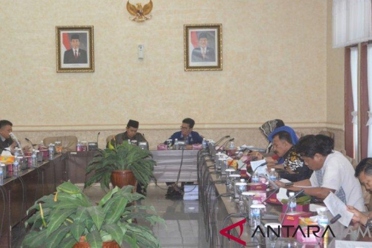 Bapemperda DPRD Provinsi Jambi sambut kunjungan dewan Batanghari