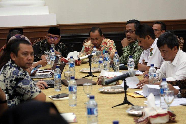 Sekda Banten Minta  TPID Kendalikan Harga Pangan