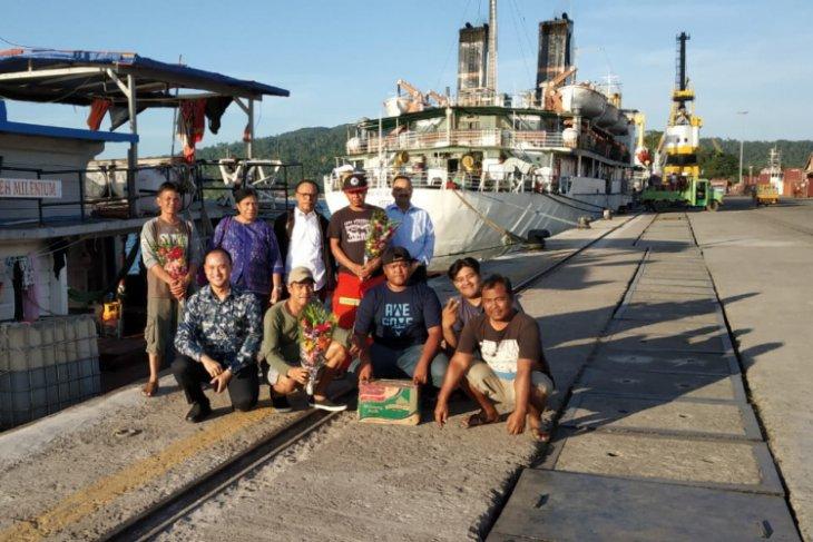 Ekspedisi pionir kapal dagang dari Aceh tiba di Port Blair India