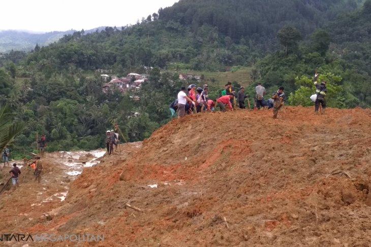Kerugian bencana di Sukabumi mencapai Rp21 miliar