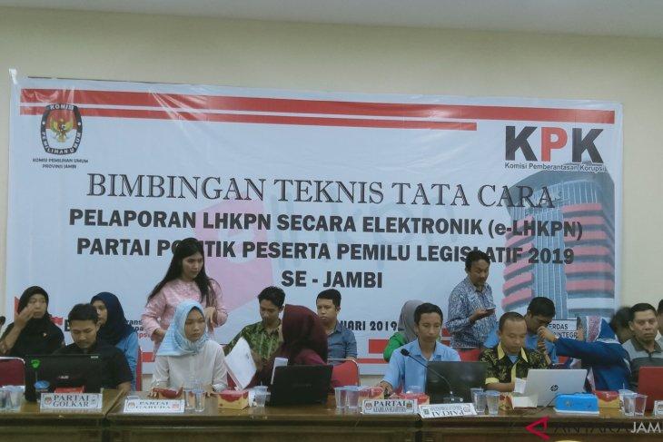 KPK beberkan cara pengisian LHKPN bagi peserta Pileg di Jambi
