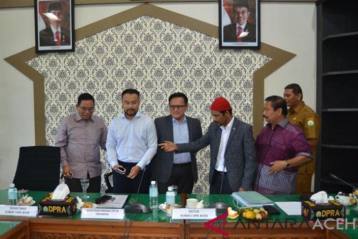 Kedubes Inggris cari masukan terkait pemilu di Aceh