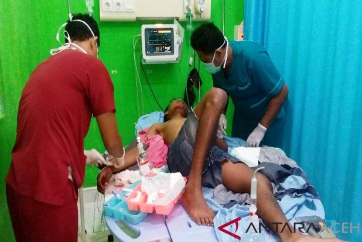 Polisi amankan sopir mobil Honda Jazz maut di Nagan Raya