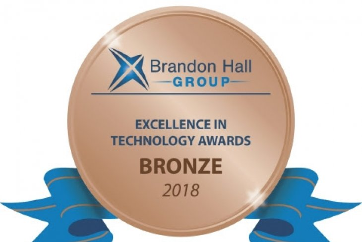 Mary Kay Europe wins Bronze at 2018 Brandon Hall Group Excellence Awards in Technology