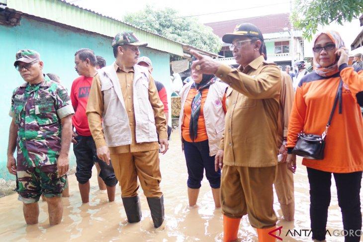 Bupati Boalemo Turun Langsung Identifikasi Korban Bencana Banjir
