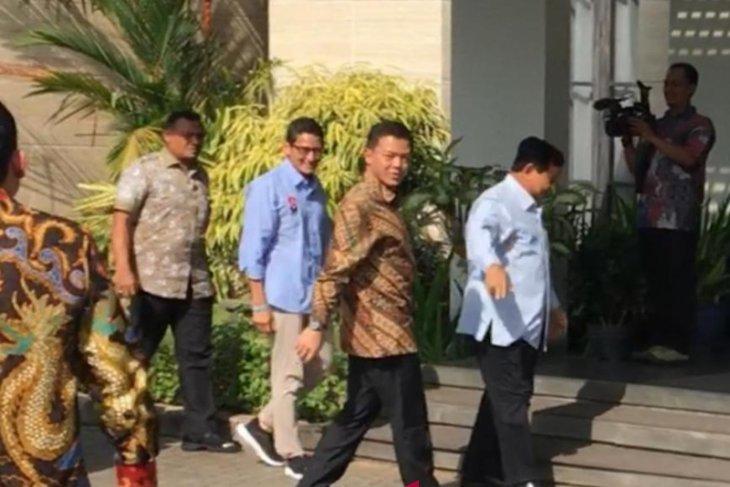 Prabowo-Sandi sambangi kediaman SBY