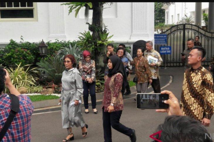 Sejumlah menteri bidang ekonomi temui Presiden Jokowi