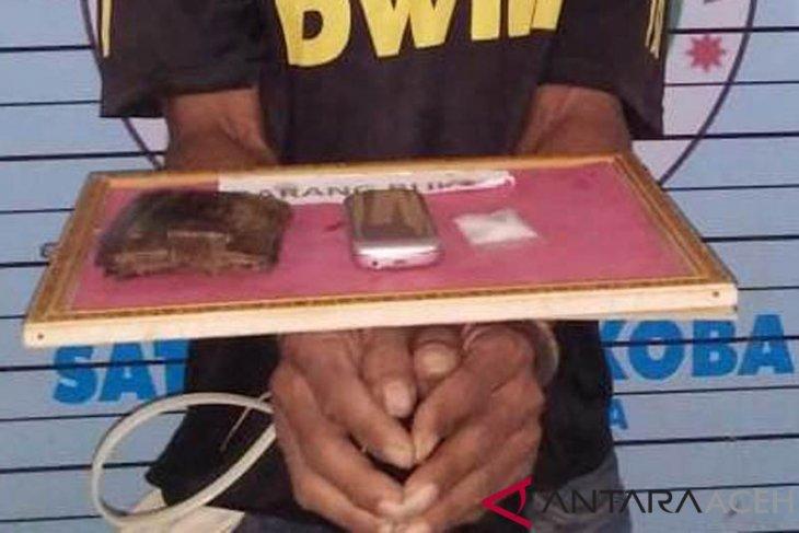 Polisi Aceh Utara sita sabu belasan paket