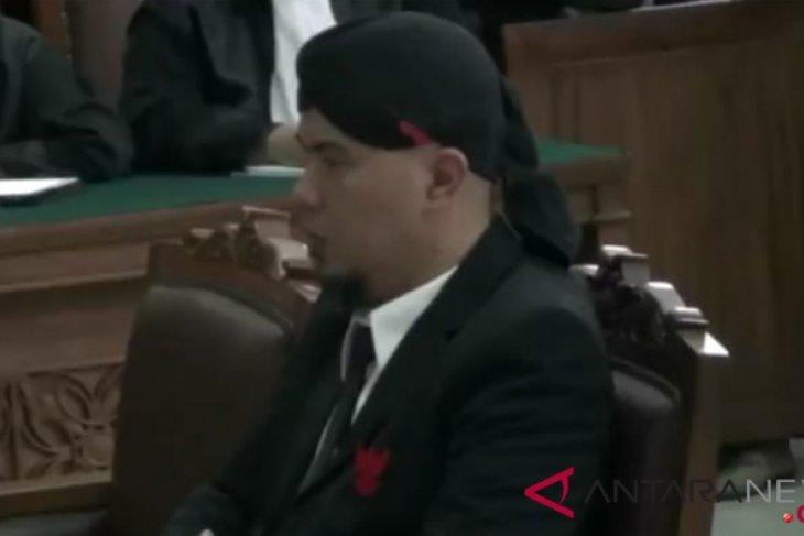 Ahmad Dhani sebut dirinya tidak sedang menjalani vonis
