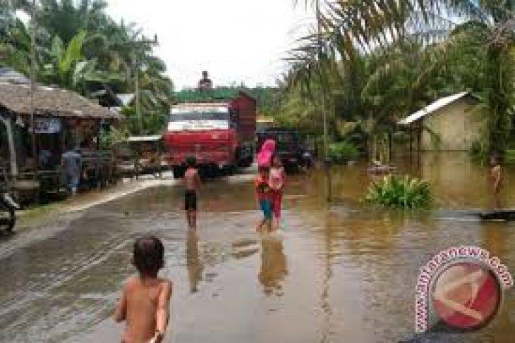 Banjir Di Labuan Pandeglang Mulai Surut
