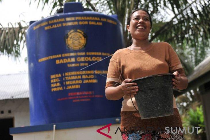 Pemerintah target cakupan layanan air bersih 76,2 persen