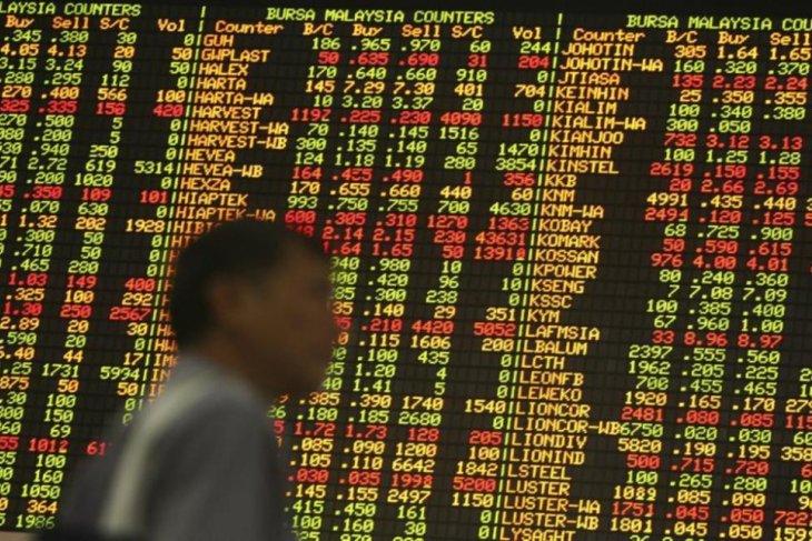 Pasar saham Malaysia ditutup 0,36 persen  lebih rendah