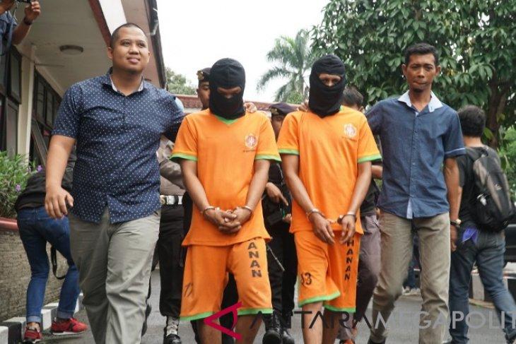 Polisi ungkap jaringan pencuri pemancar telekomunikasi
